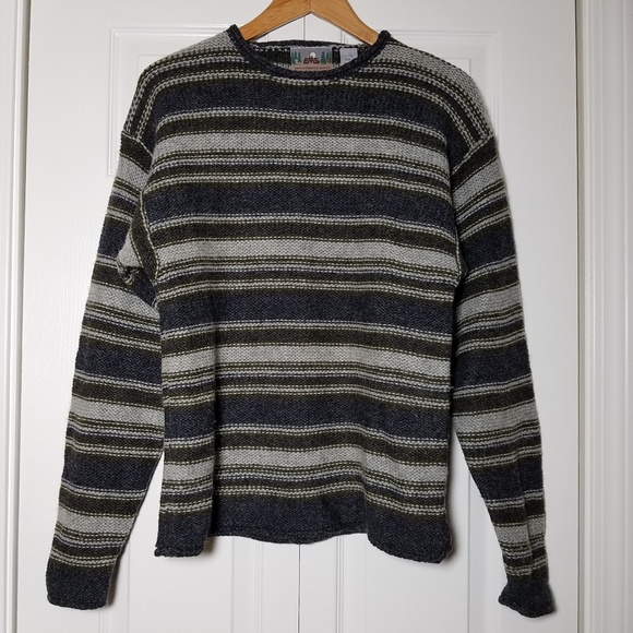 Eastern Mountain Sports Sweaters - EMS Eastern Mountain Sports Striped Wool Sweater
